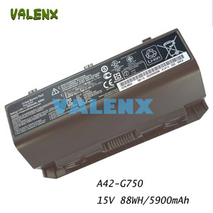 88WH A42-G750 Battery for G750 ROG Gaming Laptop 0B110-00200000M 0B110-00200000