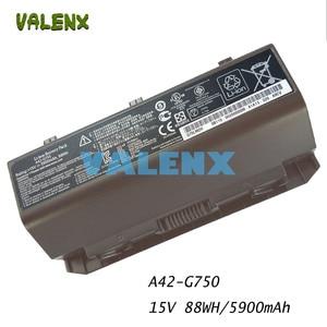 New laptop battery FOR ASUS ROG G750 Series G750J G750JH G750JM G750JS G750JW G750JX G750JZ CFX70 CFX70J A42-G750