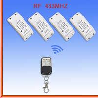 Casa sem fio interruptor de controle remoto inteligente controlador sem fio pequeno transmissor rf 433 mhz ac 220 5a inteligente