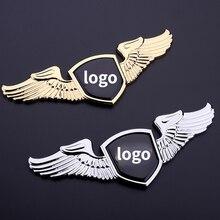 Auto Styling Metalen Verchroomde Embleem Badge Sticker Front Logo Voor Toyota Camry Chr Rav4 Corolla 4Runner Fortuner Prius Sequoia mr2