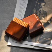 One Leather Cigarette Box Men Gift Cigarette Case Mens Gifts