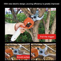 Electric Pruning Shears Plant Nursery Garden Branch Cutter Scissor Shear Floristry Electric Branch Trimmer Pruner Garden Tool
