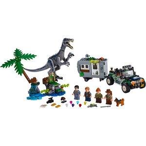 Image 5 - New Jurassic Park World Dinosaur Dinosaurs Spinosaurus Assault Figure Building Block  With 73934 75935 75937 75938