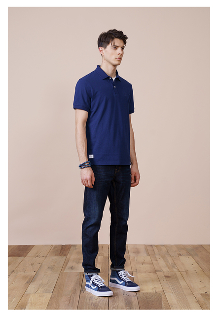 Solid Color Polo Shirts for Summer