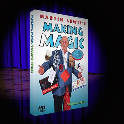 Making Magic Volume 3 By Martin Lewis,Magic Tricks