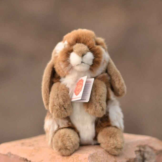 boneca coelho realista mini simulação animal nijntje