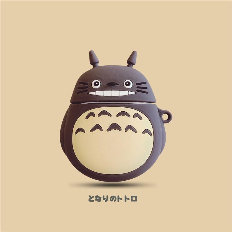 Милый дракон Кот мультфильм AirPods защитный чехол беспроводной Bluetooth наушники гарнитура Универсальный 1/2 поколение