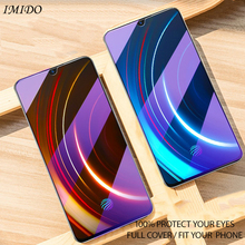 IMIDO Full Cover for VIVO IQOO NEO Anti Blue Tempered Glass Screen Protector Blue-ray Protective Film
