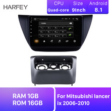 "Harfey Car Radio Android 8.1 Navi 9"" HD 2Din Stereo GPS Head Unit Player For Mitsubishi lancer ix 2006-2010 Including Frame(China)"
