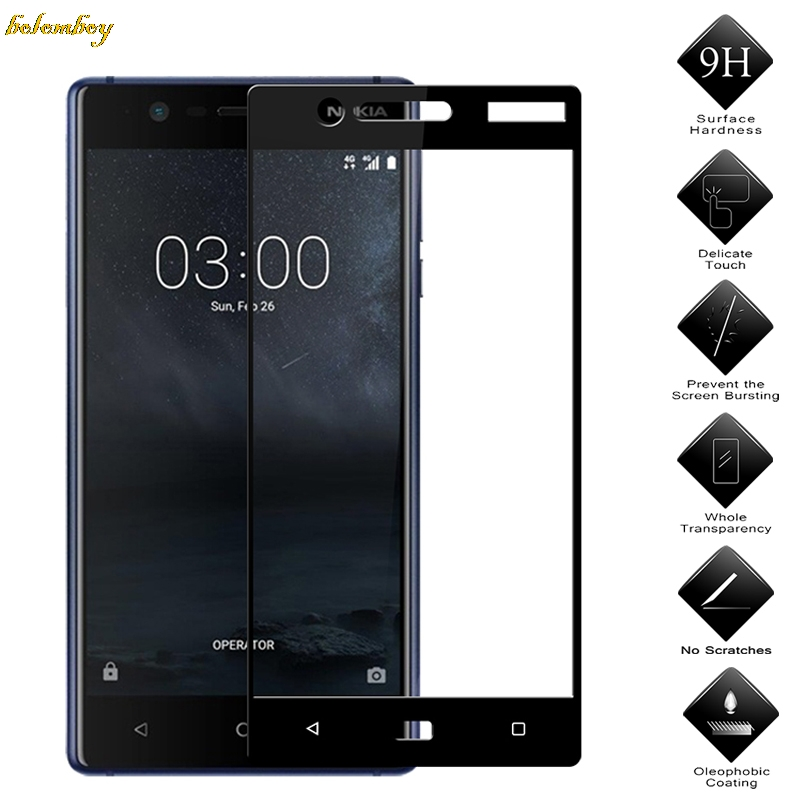 Full Cover Tempered Glass For <font><b>Nokia</b></font> <font><b>5.1</b></font> Plus X5 2018 TA-1109 5.86 inch <font><b>Screen</b></font> <font><b>Protector</b></font> For <font><b>Nokia</b></font> <font><b>5.1</b></font> Plus Toughened Film image