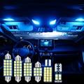 Для Toyota RAV4 XA50 для Toyota Previa RAV 4 2019 2020 2021 6 шт. автомобиль лампа гирлянда для внутреннего купола лампы для чтения багажник светильник косметическ...