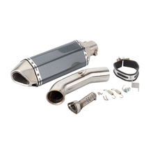 RC 125 Motorcycle For KTM RC125 2017 2018 2019 Exhaust Pipe And Link Full System