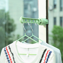 Balcony window storage hook hanger indoor plastic creative multi-color multi-function adjustable rack