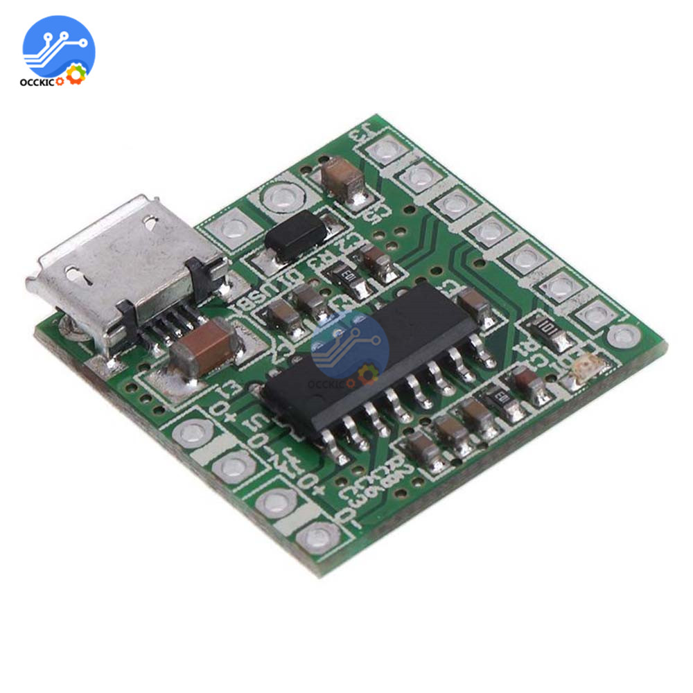 Micro USB PAM8403 Amplifier Board 5V 2x3W Audio AMP Sound System DIY Kit For Bluetooth Speaker