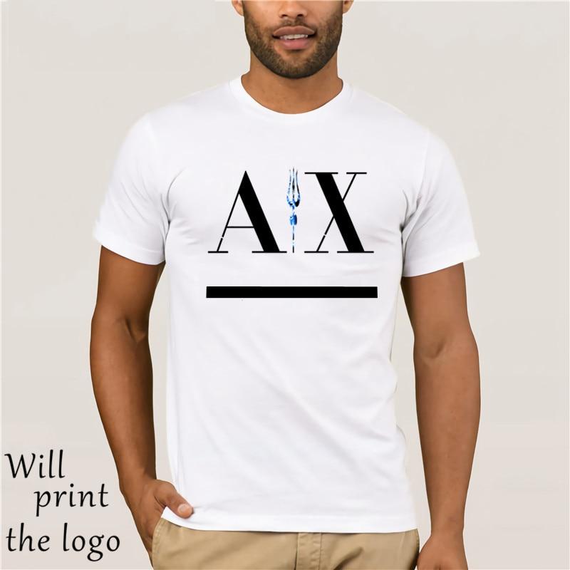 A LOGO FAMOUS FASHION BRAND Men White T-shirt