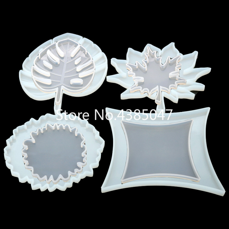 Maple Leaf Jewelry Silicone Molds Jewelry Making Tools Epoxy Molds Cup Tray  Epoxy Resin Molds