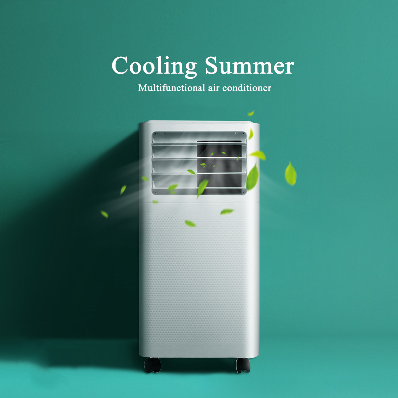 Movable Portable Household Only Cooling Air Conditioner Kitchen  Machine Vertical Air Conditioner Free Installation AC-01
