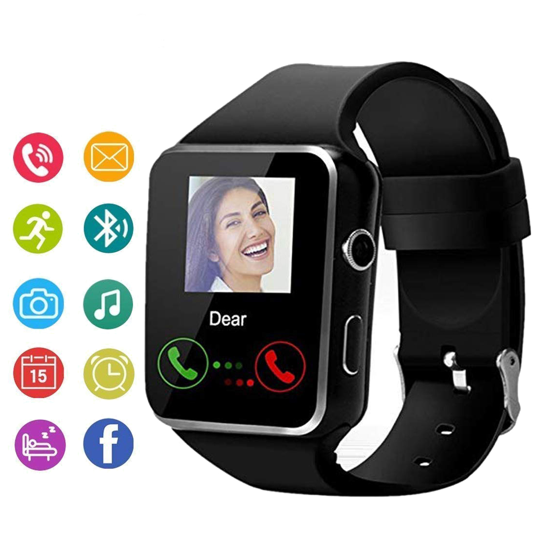 Whatsapp-Watch Millet Touch-Screen-Supports Smart-Camera Bluetooth SIM with X6 for iPhone