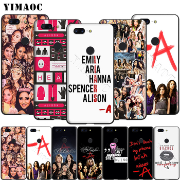Yimaoc Pretty Little Liars Spencer Hannah Silicone Case for Oneplus 7 Pro 6t 6 5t 5 image