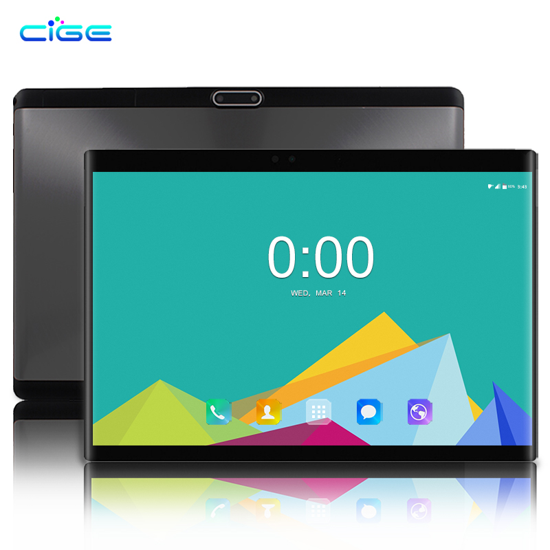Russian 10.1 Inch 1920x1200 Tablet Pc Android 9.0 4G Lte Dual SIM Phone Call Tablets 6GB RAM 64GB ROM 10 Core WiFi  10
