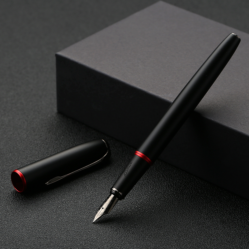 Picasso 916 Fountain Pen Ink Pen Office Stationery 0.5mm Nib High-end Pen Boutique Gift Packaging Financial Students Calligraphy