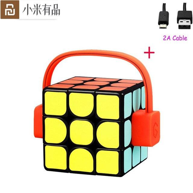 Youpin Giiker Super Smart Cube APP ระยะไกล comntrol Professional Magic Cube ปริศนาการศึกษาที่มีสีสันของเล่นสำหรับ Man Woman