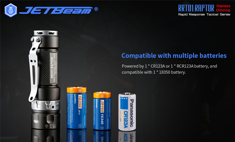 Jetfeixe rrt01-lanterna tática edc de longa distância,