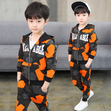 Children Clothing Sets For Boys Camouflage Sports Suits Autumn Kids Tracksuits 2020 Teenage