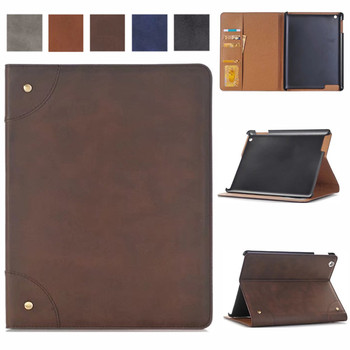 for iPad 2 3 4 Wallet Case, Matte PU Leather Smart Cover Folio Case Stand with Auto Sleep/ Wake Function Cover for iPad 2 3 4 for ipad pro 12 9 case aiyopeen 3 fold pu leather smart wake up sleep with matte transparent pc back cover magnetic flip stand
