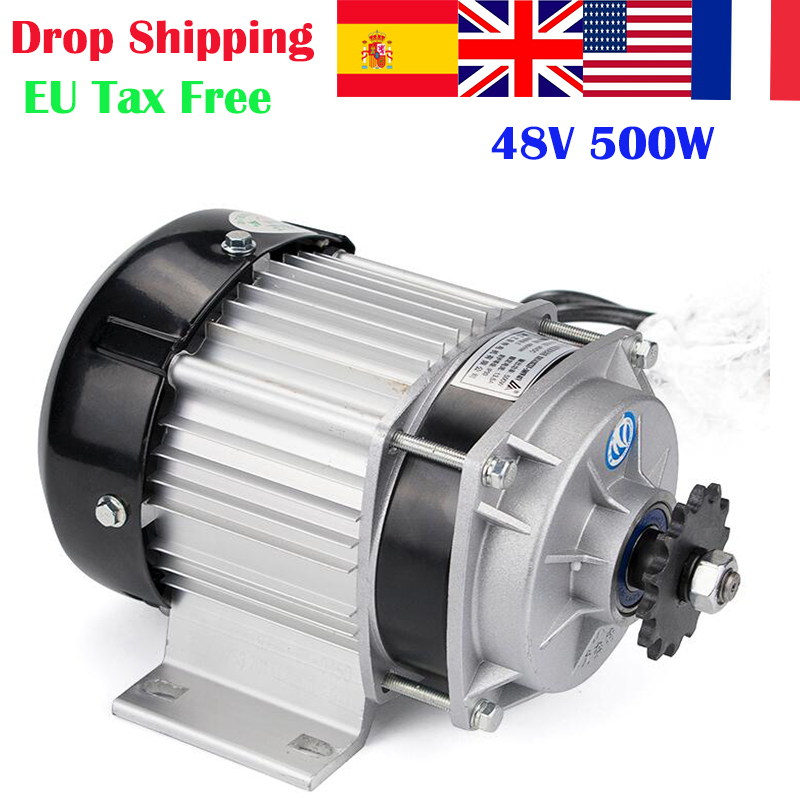 500W DC 48V/60V Brushless Motor Electric Bicycle Gear Motor BLDC UNITEMOTOR BM1418ZXF EBIKE E-Tricycle Motor part