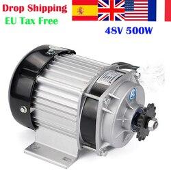 500W DC 48 V/60 V bezszczotkowy napęd elektryczny do roweru motoreduktor BLDC UNITEMOTOR BM1418ZXF EBIKE e-trójkołowy część silnika