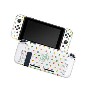 Image 3 - Pour Nintend Switch NS Joy Con coque de protection coque de boîtier pour les Fans de croisement danimaux accessoires de contrôleur de jeu