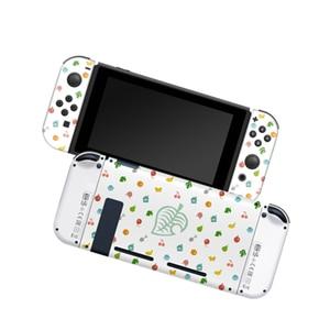 Image 3 - Przełącznik do nintendo NS Joy Con futerał ochronny sztywne etui obudowa do Animal Crossing Fans kontroler do gier akcesoria