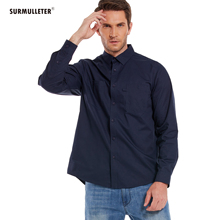Men Casual Shirt 100%Cotton Long Sleeve