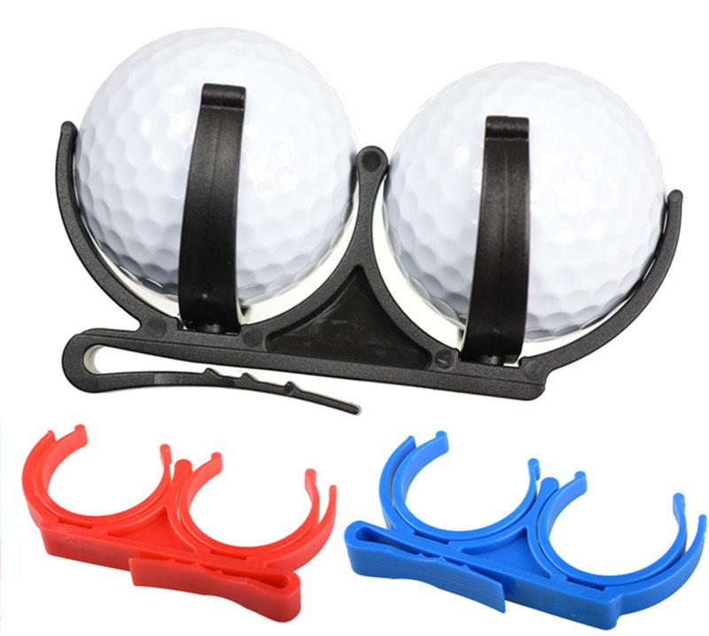 New Golf Clip Golf Ball Holder Clip Organizer Golfer Golfing Sporting Training Tool Accessory Golf Accessories Training Aids