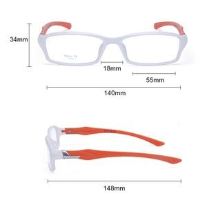 Image 5 - CUBOJUE sports Mens Glasses Frame TR90 eyeglass frames women ultra light prescription spectacles myopia diopter optical eyeglass