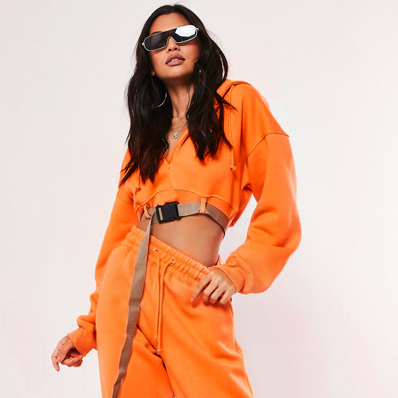 orange short sweatshirt women10