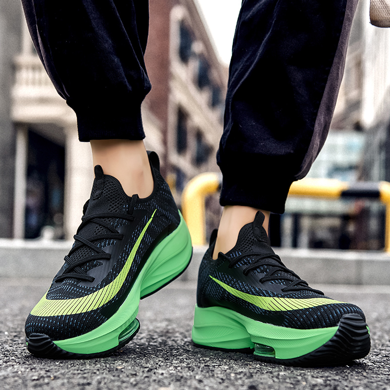 Spring Autumn Professional Sneakers Men Breathable Brand Running Shoes 45 Air Cushion Damping Designer Sports Jogging Tenis 46|Running Shoes|   -