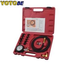Kit de teste de pressão óleo do motor testador baixo óleo aviso dispositivos ferramenta garagem carro