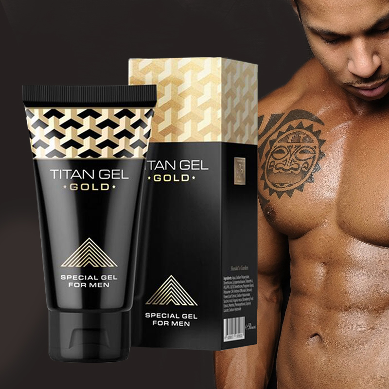 Gold Penis Enlargement Cream Retarder Gel For Male Penis Growth Increase Delay Lubricants Big Dick Penis Gel Sex Oil Aphrodisiac