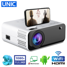 UNIC E450 Home Theater Projector 720P 8000 Lumens LED Proyector Support 1080P Full HD
