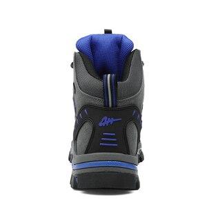 Image 3 - JUNJARM Heißer Verkauf Winter Stiefel Männer Schuhe Wasserdichte Outdoor Schnee Stiefel Pelz Warme Casual Männer Schuhe Nicht Slip Männer Turnschuhe