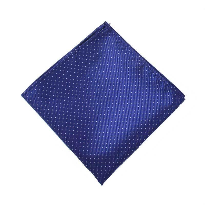 [] Men Fashion Jacquard Polka Dot Small Square Towel Suit Shirt Pocket Square Enquiry