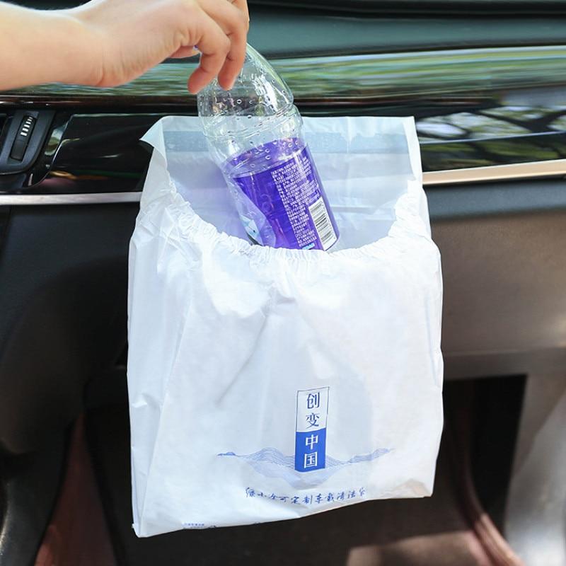 Car-Garbage-Bag Car-Interior-Accessories with Self-Adhesive 3pc/Pack