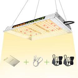 Mars Hydro TS 600W светодиодный светильник для выращивания солнечных лучей полный спектр комнатных гидропонных растений