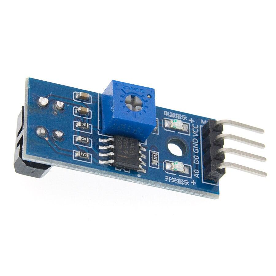 Tcrt5000 infravermelho sensor reflexivo ir interruptor fotoelétrico barreira linha módulo trilha para arduino diode triode placa 3.3v