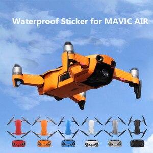 Image 1 - Dji mavic空気防水ステッカーフルカバーpvc保護スキンmavic空気ドローンボディバッテリーアームリモコン
