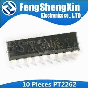 10 шт./лот PT2262 TL2262 датчик дистанционного управления IC DIP-18