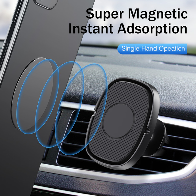 GTWIN Magnetic Car Phone Holder Air Vent Mount Stand in Car Magnet GPS Mobile Phone Holder For iPhone 11 Samsung Xiaomi Stander 2