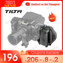 Tilta Side Focus Handvat Voor Bmpcc 4K 6K Camera Kooi Side Handvat Voor F970 LP E6 F550 F570 Batterij blackmagic Kooi Accessoires